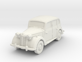 austin 10 staffcar scale 1/56 in White Natural Versatile Plastic