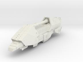 1000 Corellian Action IV transport Star Wars in White Natural Versatile Plastic