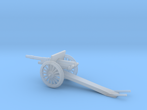 1/87 Scale 4.7 Inch Gun Carriage M1906 in Smooth Fine Detail Plastic