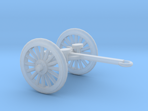 1/48 Scale 4.7 Inch Gun Limber M1905 in Smooth Fine Detail Plastic