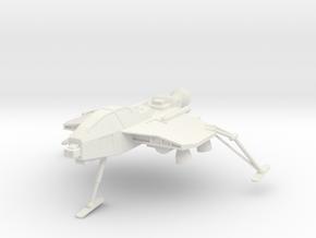 "TA06 A40 ""Fox"" Attack Aircraft in White Natural Versatile Plastic"