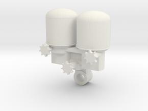 1:14 Truck LKW Air Dryer Lufttrockner in White Natural Versatile Plastic