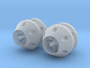 1/24 - 1/25 anti grav thrusters in Smooth Fine Detail Plastic