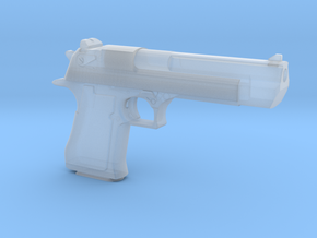 1:6 Miniature Desert Eagle Gun in Smooth Fine Detail Plastic