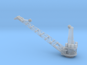 1/192 USS BB59 Crane in Smooth Fine Detail Plastic