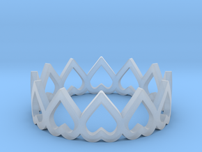 hearth crown ring size 5.5 in Smoothest Fine Detail Plastic