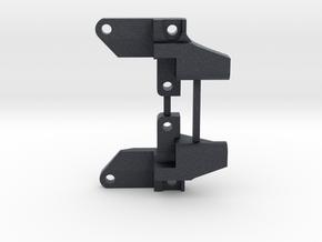 Schumacher Topcat narrow upper wishbone mounts in Black Professional Plastic