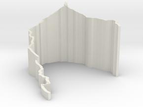 Faulhorn Schlitteln (Sledding Sledging) in White Natural Versatile Plastic