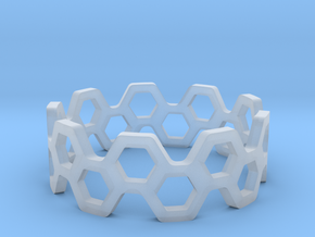 bee ring 2 rows size 5 in Smoothest Fine Detail Plastic