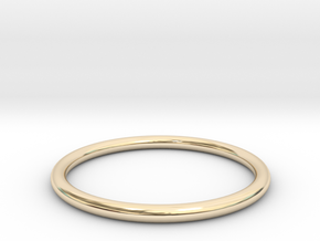 wire ring size 6.5 in 14K Yellow Gold