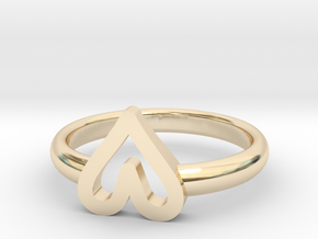 ring hearth size 5.5 in 14K Yellow Gold