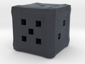 Dice Hollow D6 in Black PA12