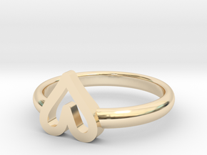 ring hearth size 6.5 in 14K Yellow Gold