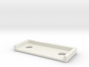 DW_MPF_Shim_15 in White Natural Versatile Plastic