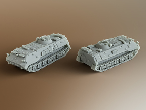 MT-LBu Soviet multi-role amphibious Scale: 1:285 in Smooth Fine Detail Plastic