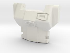Minerva Chestplate for CW breakdown in White Natural Versatile Plastic
