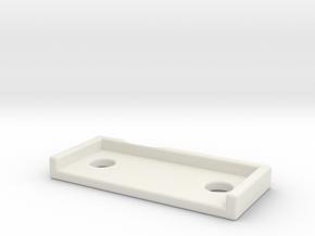 DW_MPF_Shim_20 in White Natural Versatile Plastic