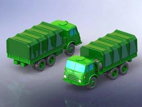 Steyr 680 6 x 6 Truck 1/285 in Smooth Fine Detail Plastic