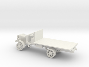 1/72 Scale Liberty Truck in White Natural Versatile Plastic