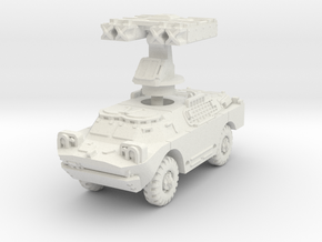 BRDM 2 AT Gaskin scale 1/100 in White Natural Versatile Plastic