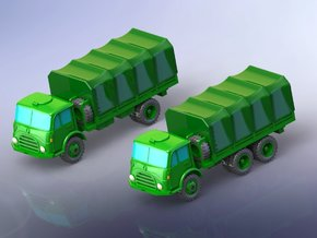 Steyr 680 Truck Variants 1/285 in Smooth Fine Detail Plastic