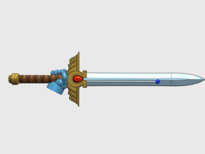 10x Right-handed Energy Sword: McKrag in Smooth Fine Detail Plastic