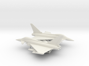 Eurofighter EF-2000 Typhoon in White Natural Versatile Plastic: 6mm