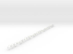 Four p in White Natural Versatile Plastic