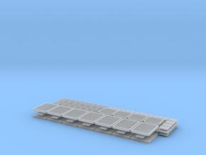 1/96 scale Bergmini - Vents Set in Smooth Fine Detail Plastic