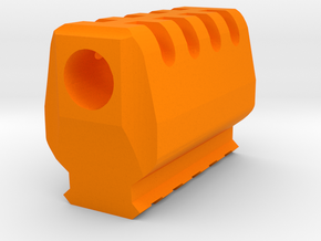 J.W. Compensator V2 (16mm Self-Cutting) in Orange Processed Versatile Plastic