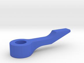 C-972 - Sling Shot Kicker Arm  in Blue Processed Versatile Plastic