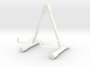 Guitar stand for Martin D18 in White Processed Versatile Plastic
