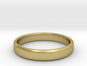 tough guy ring size 11.5 in Natural Brass