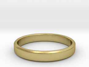 tough guy ring size 13 in Natural Brass