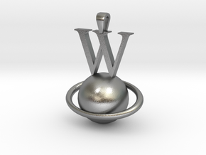 Wplanet-2 in Natural Silver