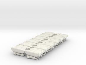 BOGATYR TANK (RUS FACTION) 12 PACK in White Natural Versatile Plastic