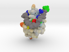 TDP-43 Mutant in Complex with DNA in Natural Full Color Sandstone: Small