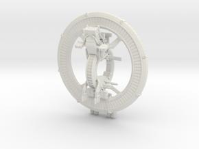 1:48 Flying Gantz Bike - Gantz in White Natural Versatile Plastic: 1:48 - O