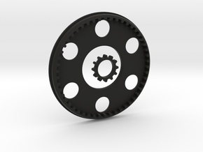 Low Profile Ring Gear and Planetary Gear in Black Natural Versatile Plastic