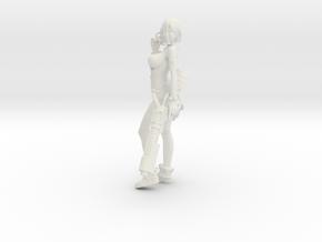 1/24 Sci-Fi Girl Anzu in White Versatile Plastic in White Natural Versatile Plastic