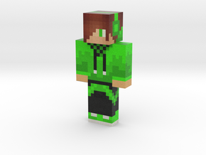 PokeCrafterC   Minecraft toy in Natural Full Color Sandstone