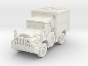 DAF YA 126 Ambulance scale 1/100 in White Natural Versatile Plastic