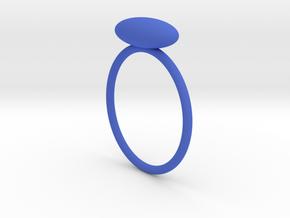 ellissoide in Blue Processed Versatile Plastic