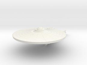 9350 Saladin refit Jenghiz class in White Natural Versatile Plastic