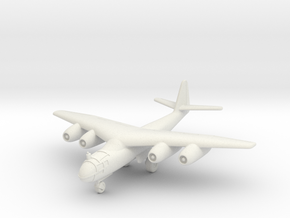 (1:144) Arado Ar 234 mit Pfeilflügel (Wheels down) in White Natural Versatile Plastic