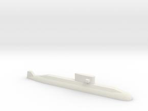 Lada-Class Submarine, 1/1250 in White Natural Versatile Plastic