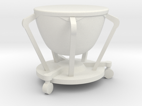 "1:24 29"" Timpani in White Natural Versatile Plastic"