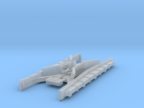 1/5000 Star Destroyer Avenger Conning Tower in Smooth Fine Detail Plastic