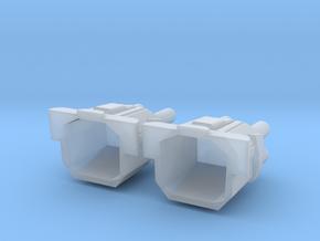 1/5000 Star Destroyer Devastator Quads v2 in Smooth Fine Detail Plastic