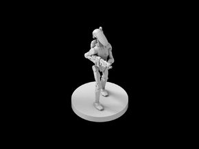 (IA) Battledroid 3 in Smooth Fine Detail Plastic